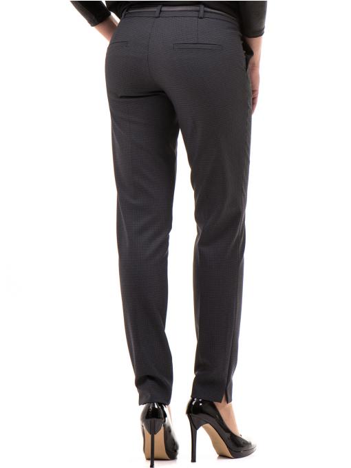 Дамски панталон F.L.M с колан 667 - антрацит B