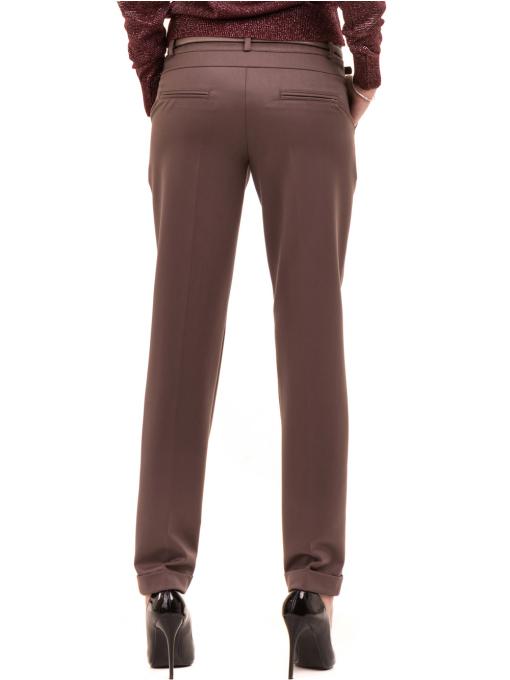Дамски панталон F.L.M. с колан 900 - цвят капучино B