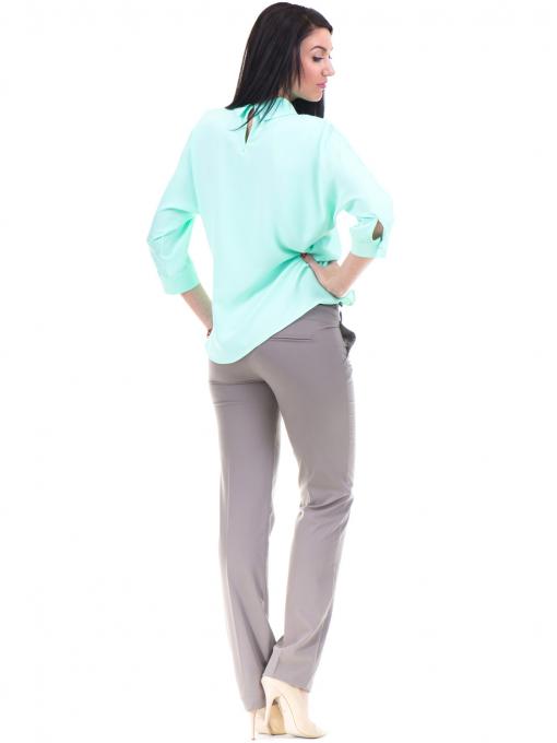 Дамски панталон F.L.M с колан 961- цвят капучино E