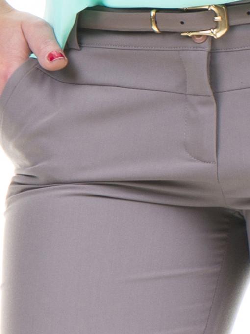 Дамски панталон F.L.M с колан 961- цвят капучино D