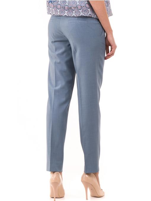 Дамски панталон F.L.M с колан 964 - светло син B