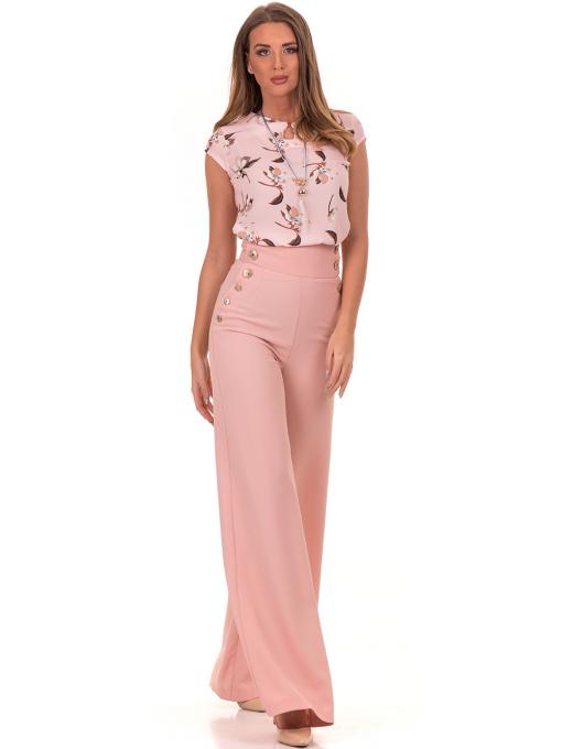 Дамски панталон GREEN&COUNTRY 2034 - розов C