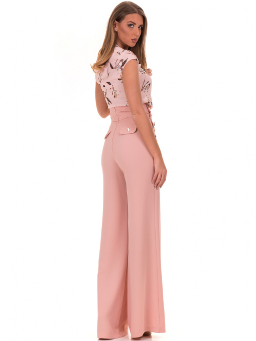 Дамски панталон GREEN&COUNTRY 2034 - розов E