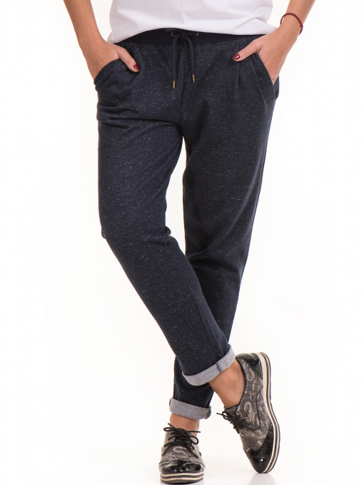 Дамски  спортен панталон JOGGY GIRLS 5421 - тъмно син