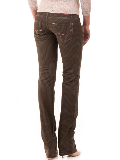 Дамски панталон JUNKER 1336 - цвят каки B