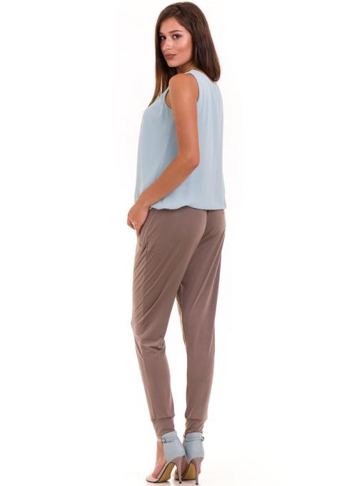 Дамски панталон JOY MISS 30078 - цвят капучино E