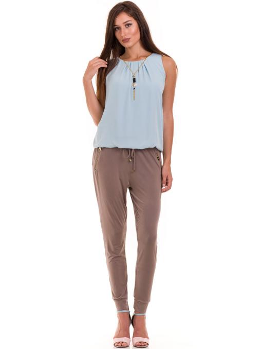 Дамски панталон JOY MISS 30078 - цвят капучино C