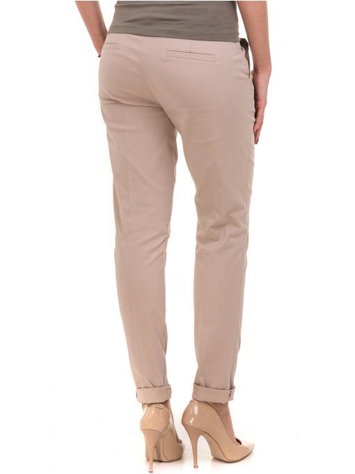 Дамски панталон KOTON 42193 - светло бежов B