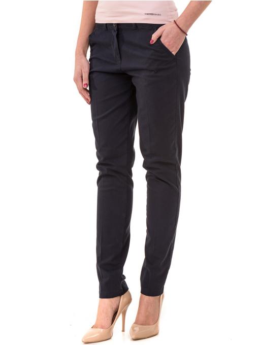 Дамски панталон KOTON 42193 - тъмно син