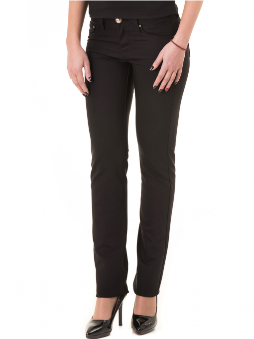 Дамски панталон LACARINO 1956 - черен