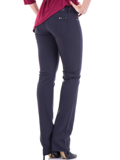 Дамски панталон LACARINO 3098 - тъмно синьо B