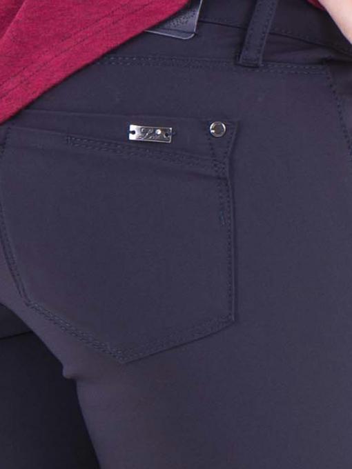 Дамски панталон LACARINO 3098 - тъмно синьо D