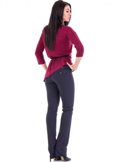 Дамски панталон LACARINO 3098 - тъмно синьо E