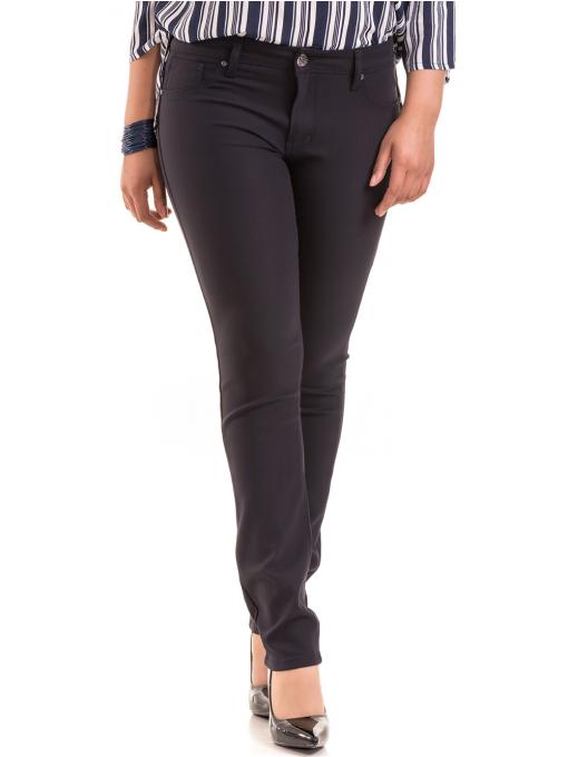 Дамски панталон LACARINO 3562 - тъмно син