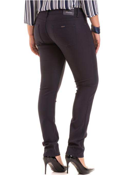 Дамски панталон LACARINO 3562 - тъмно син B
