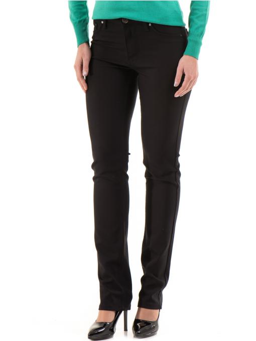Дамски панталон LACARINO 3661 - черен
