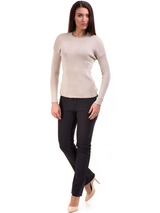 Дамски панталон LACARINO 3661- тъмно син C2