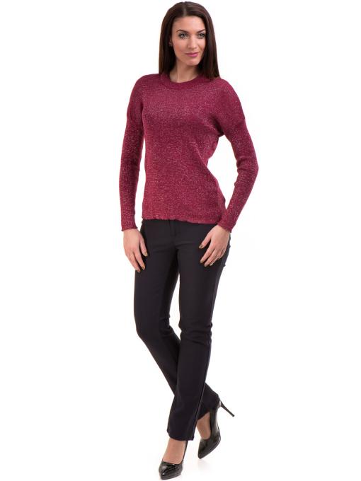 Дамски панталон LACARINO 3661- тъмно син C1
