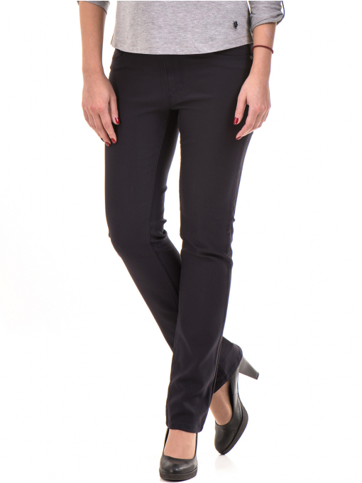 Дамски панталон LACARINO 3661- тъмно син