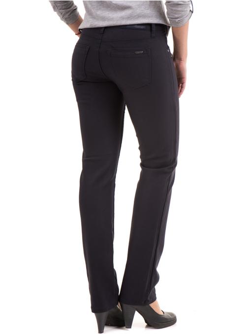 Дамски панталон LACARINO 3661- тъмно син B