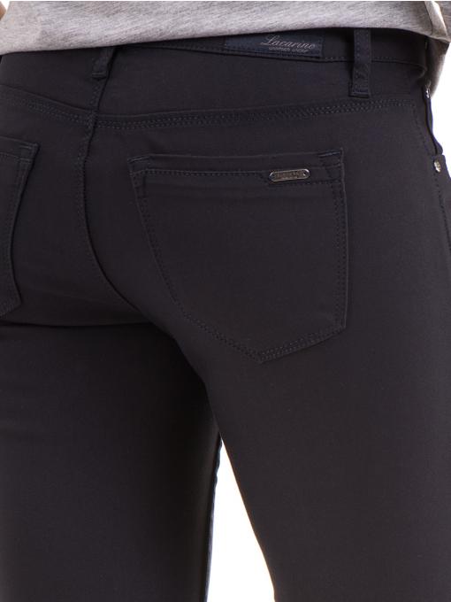 Дамски панталон LACARINO 3661- тъмно син D