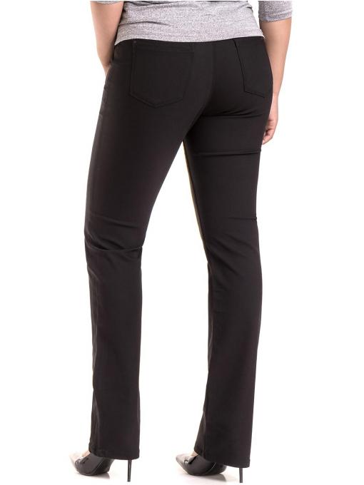 Дамски панталон LACARINO 4136- черен
