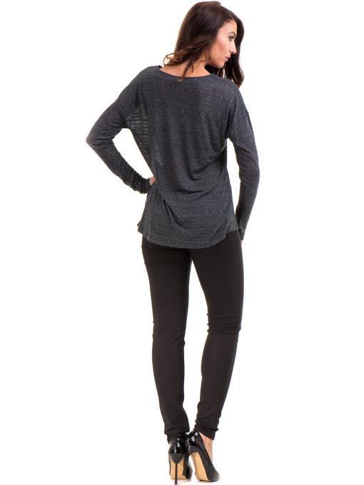 Дамски панталон LACARINO 4189 - черен E