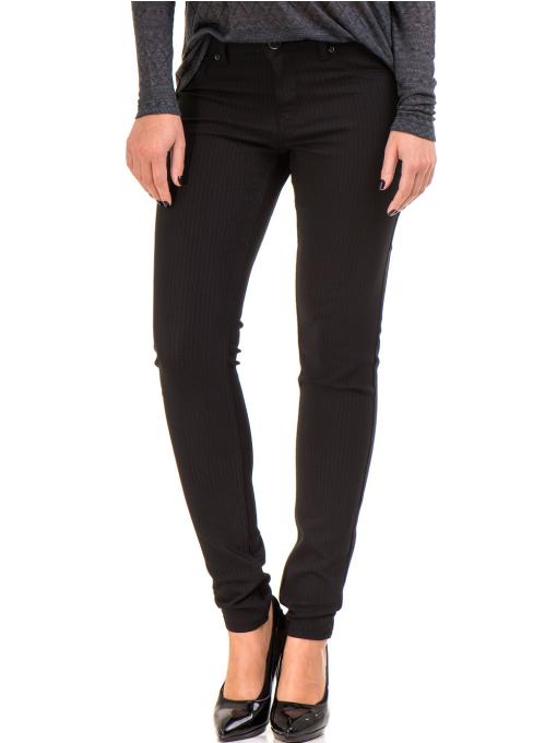 Дамски панталон LACARINO 4189 - черен