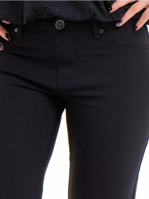 Дамски панталон LACARINO 4189 - тъмно син D