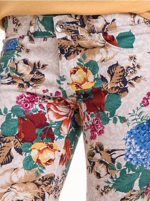 Дамски панталон MISS POEM 43728 - светло бежов D