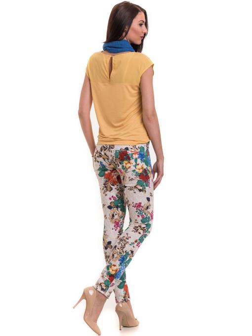 Дамски панталон MISS POEM 43728 - светло бежов E