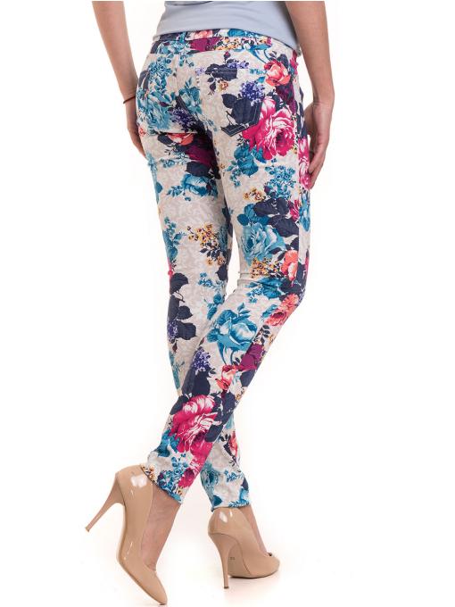 Дамски панталон MISS POEM 43728 - син B
