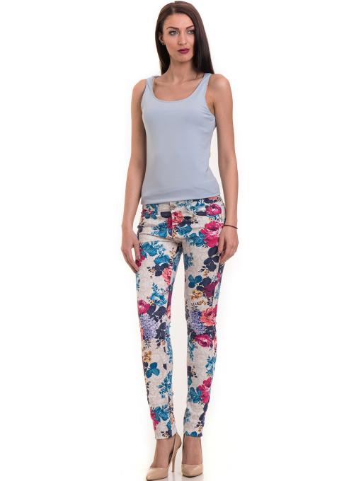 Дамски панталон MISS POEM 43728 - син C