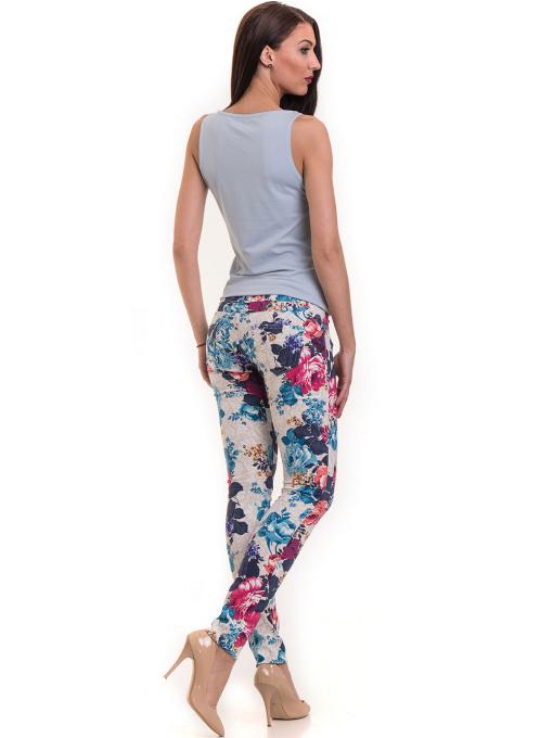 Дамски панталон MISS POEM 43728 - син E