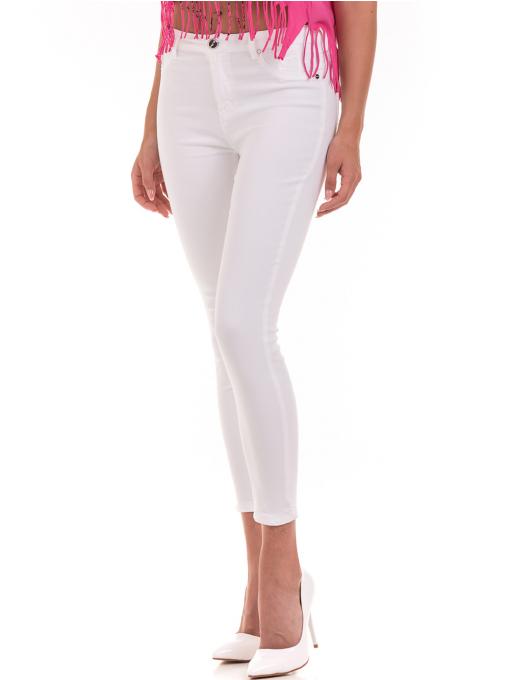Дамски панталон ONE PASS 4392 - бял