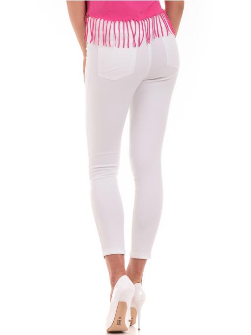 Дамски панталон ONE PASS 4392 - бял B