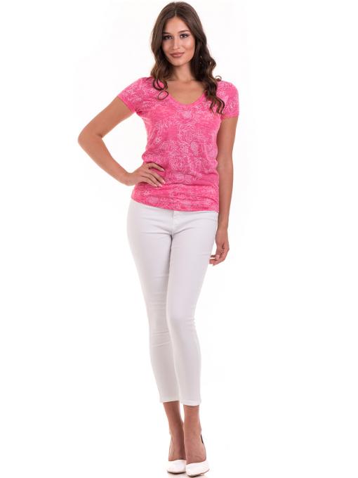 Дамски панталон ONE PASS 4392 - бял C