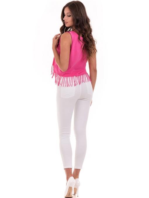Дамски панталон ONE PASS 4392 - бял E