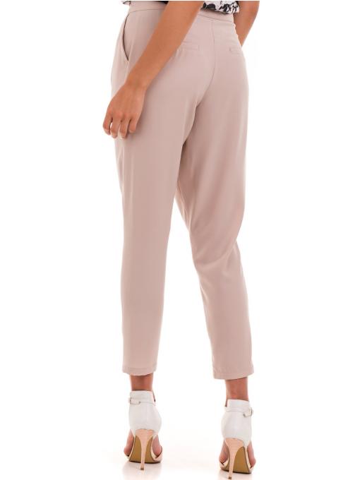 Дамски панталон SINGLE 2791 - светло бежов B