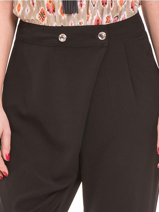 Дамски панталон SINGLE 2791 - черен D