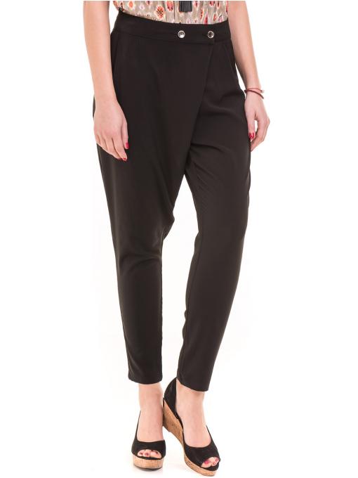 Дамски панталон SINGLE 2791 - черен