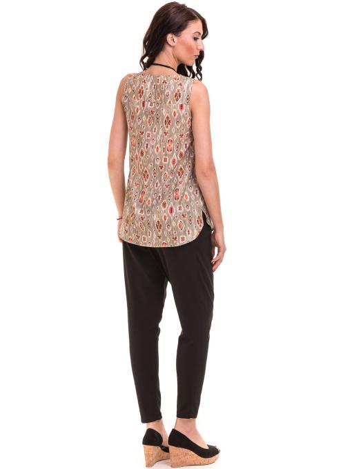 Дамски панталон SINGLE 2791 - черен E