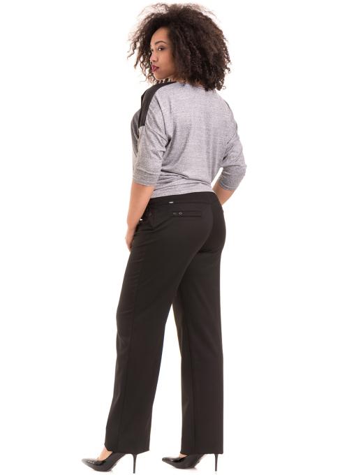 Дамски панталон SWEEP с колан 886- черен E