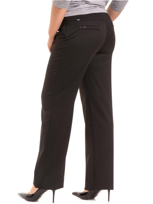 Дамски панталон SWEEP с колан 886- черен B