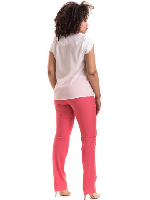 Дамски панталон SWEEP с колан 959 - тъмно розов E