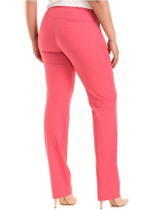 Дамски панталон SWEEP с колан 959 - тъмно розов B