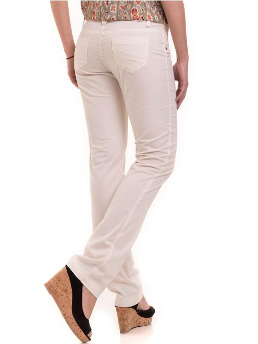 Дамски класически панталон XINT 069 - екрю B