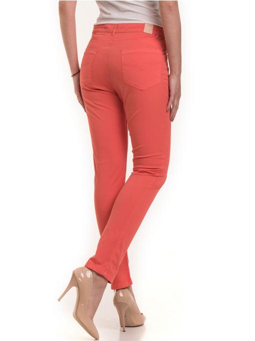 Дамски  слим фит панталон XINT 337 - цвят корал B