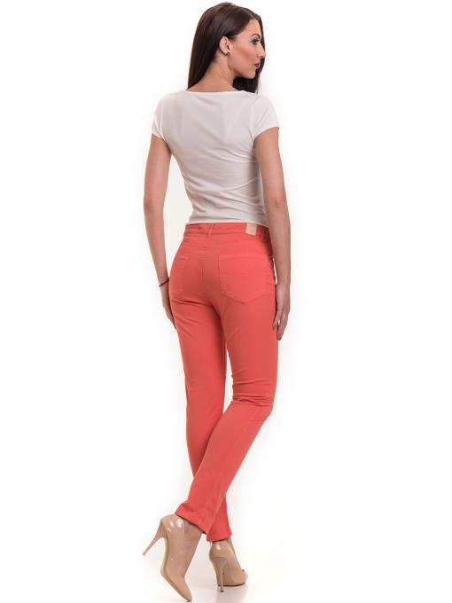 Дамски  слим фит панталон XINT 337 - цвят корал E