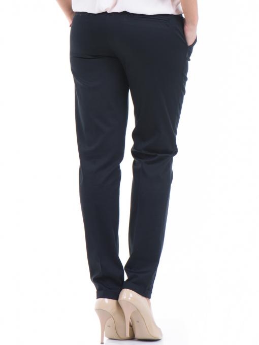 Дамски панталон ZANZI с колан 01407 - черен B